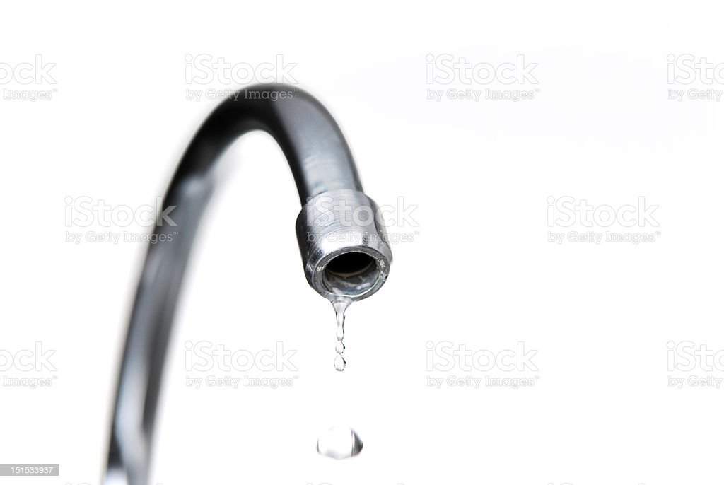 Water and Tap royalty-free stock photo