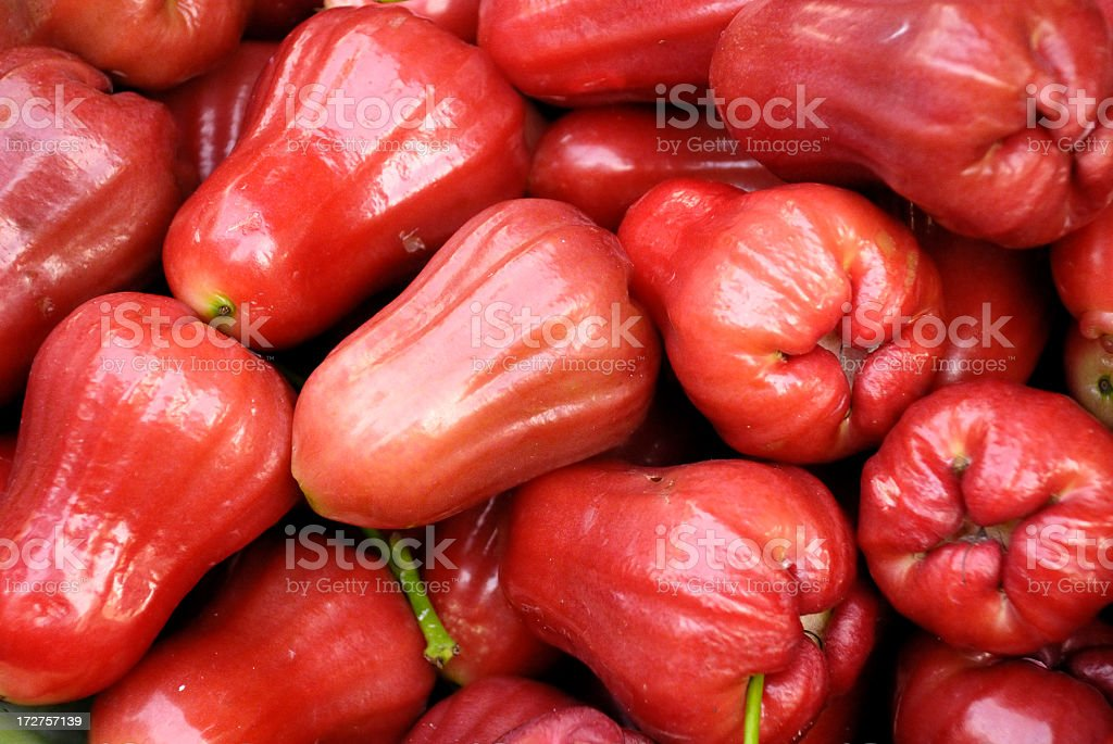 Water Apple (Tropical Fruit) stock photo