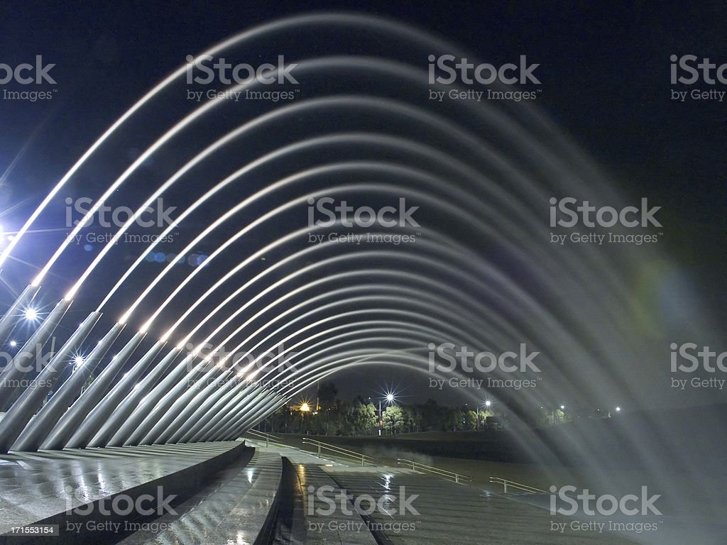 Water Arches royalty-free stock photo