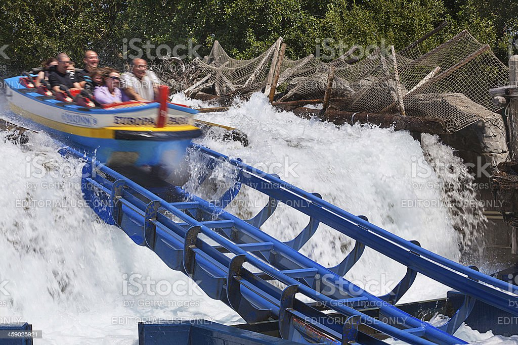 Water attraction royalty-free stock photo