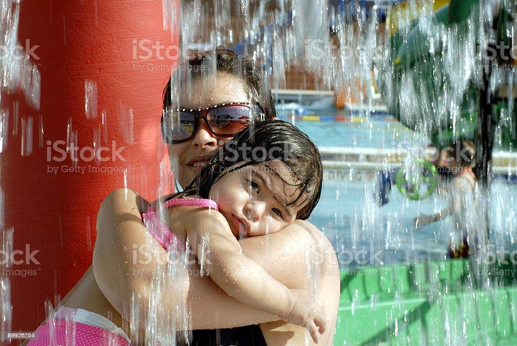 Water Baby stock photo
