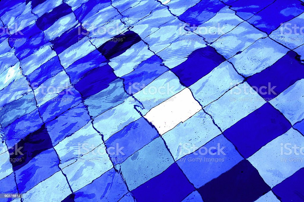 Water background in swimming pool royalty-free stock photo