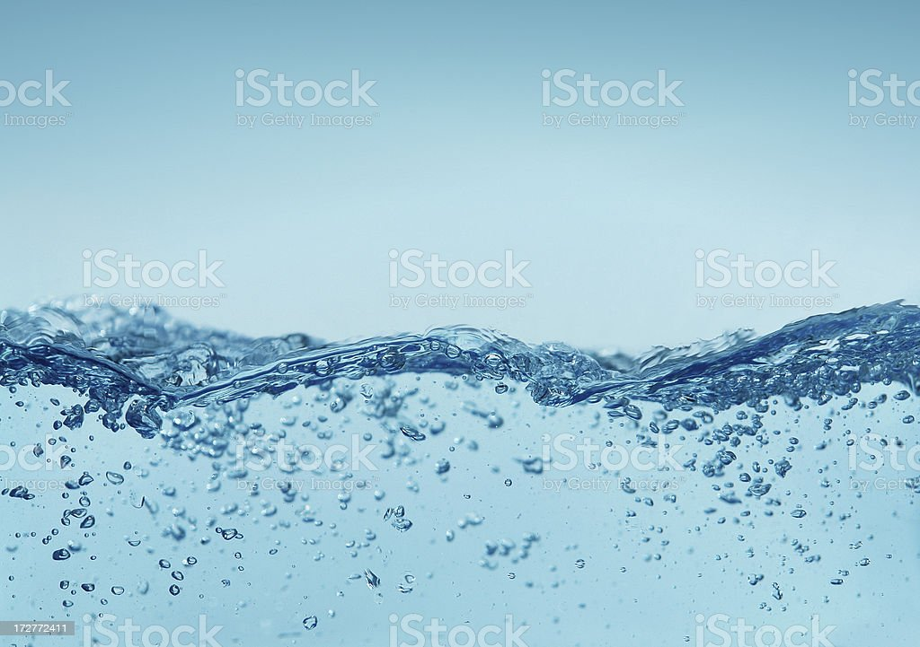 Water Background royalty-free stock photo