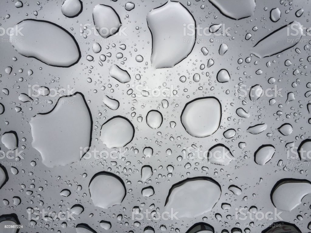 Water background with water drops stock photo