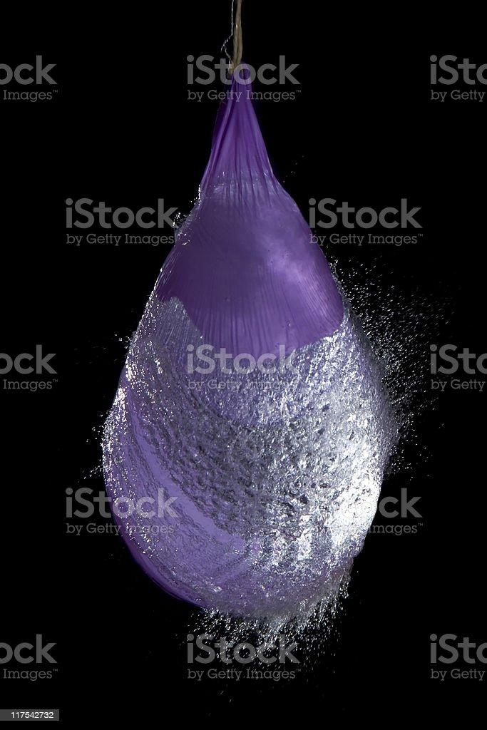 Water balloon stock photo