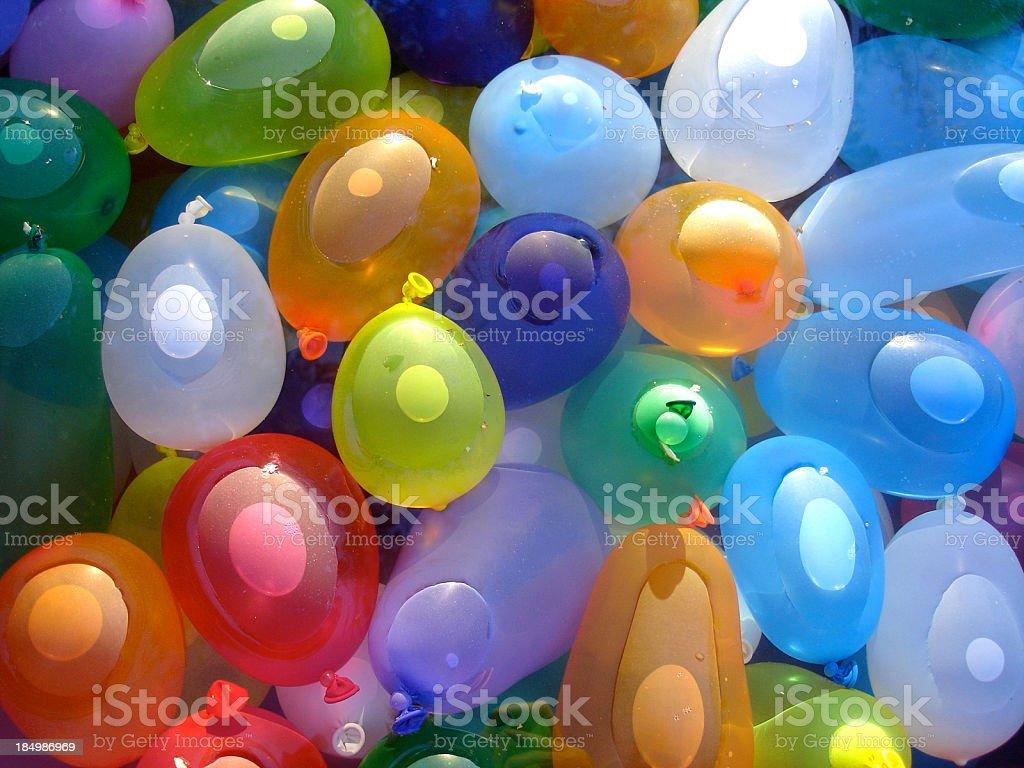 Water Balloons stock photo