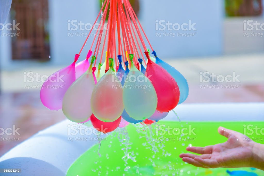 Water Balloons stock photo