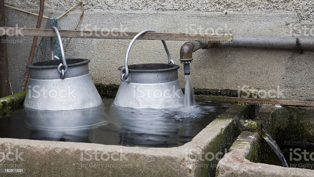 Water bath royalty-free stock photo