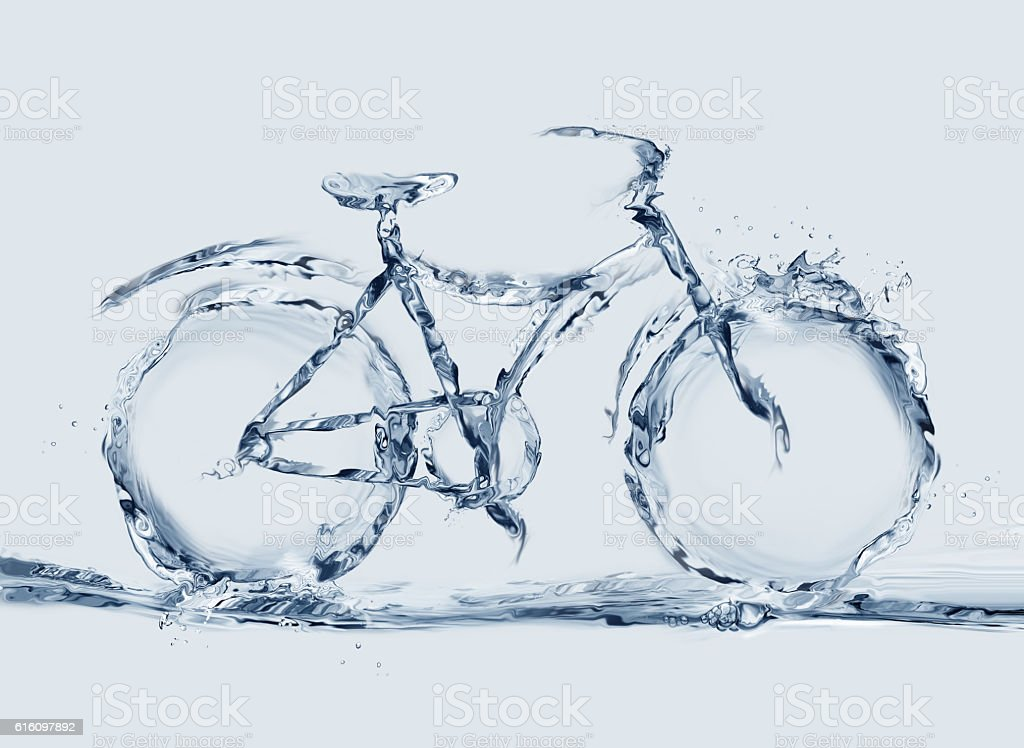 Water Bicyle royalty-free stock photo