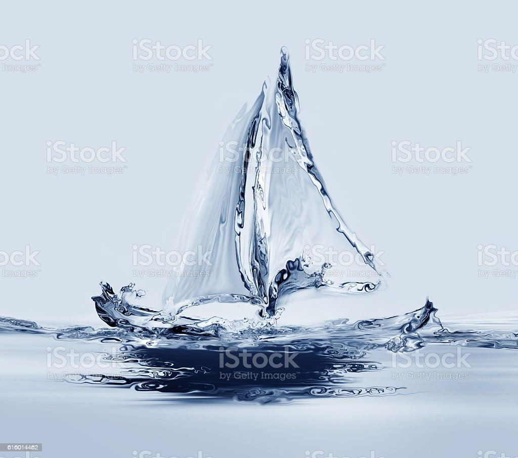 Water Boat royalty-free stock photo