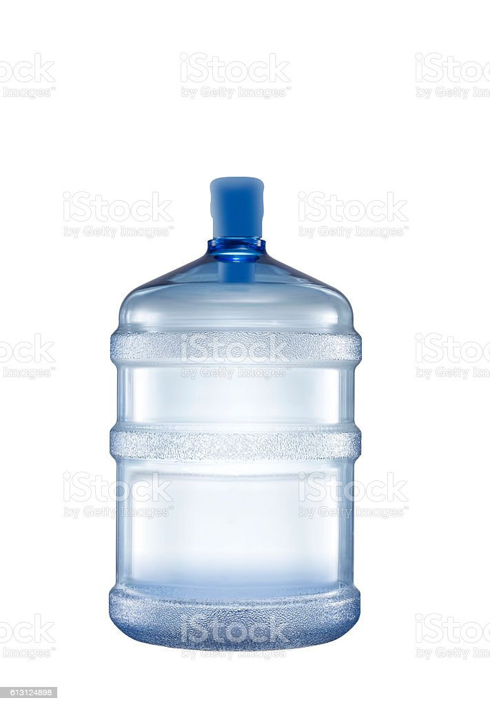 water bottle(clipping path) stock photo