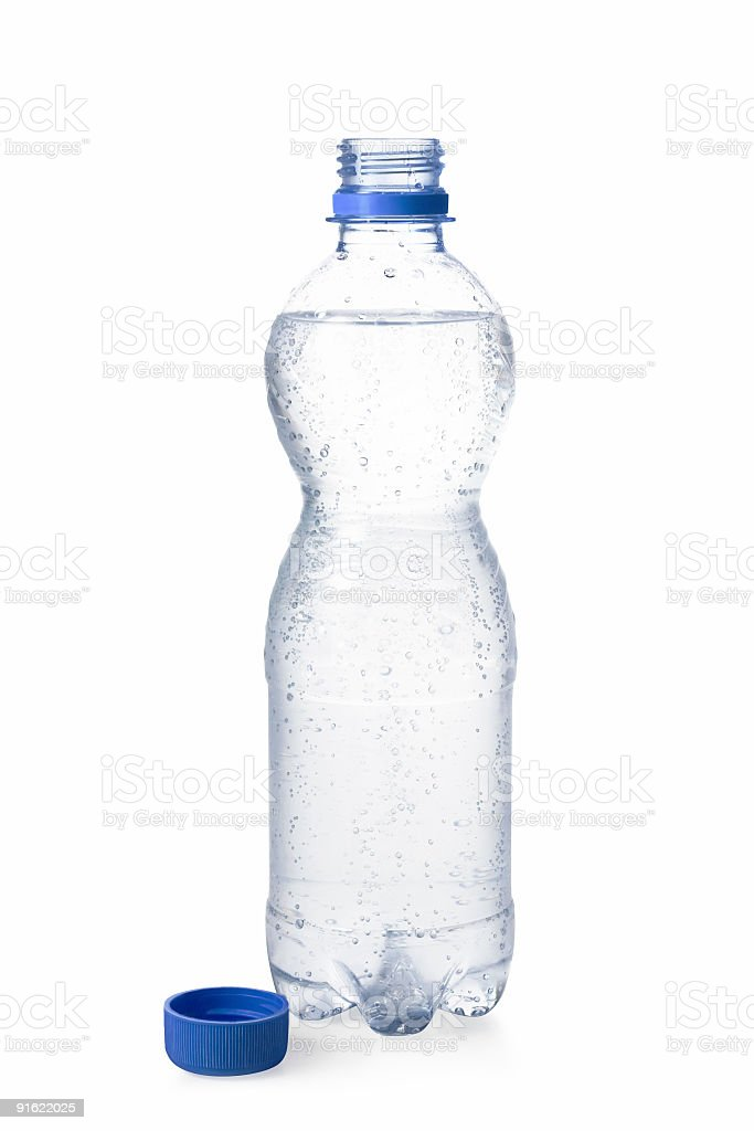 Water bottle royalty-free stock photo