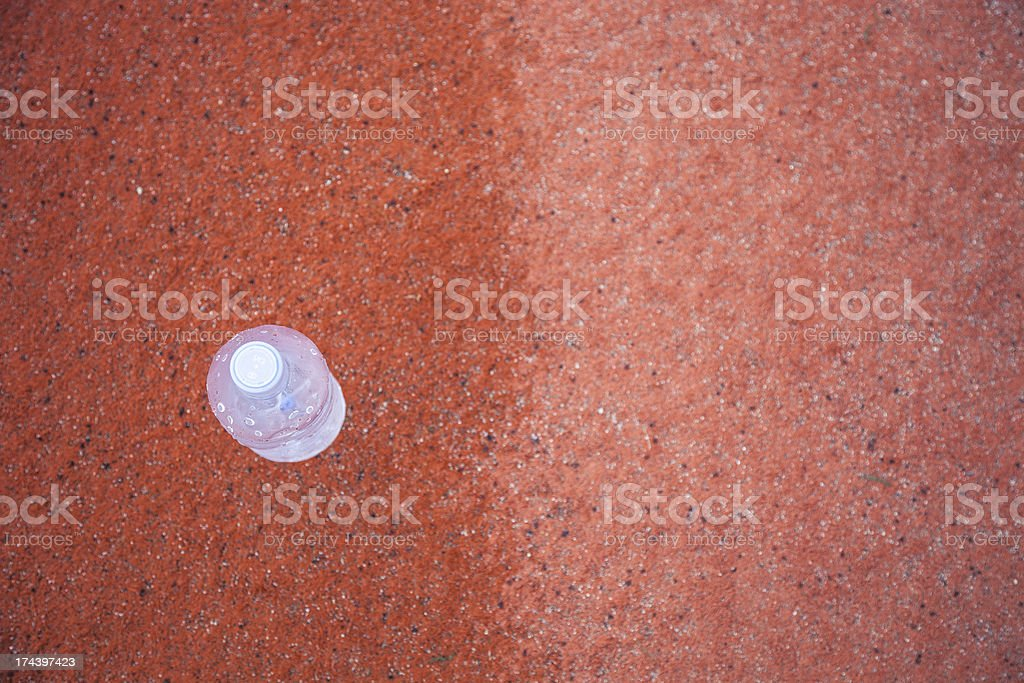 Water bottle, refreshment drink stock photo