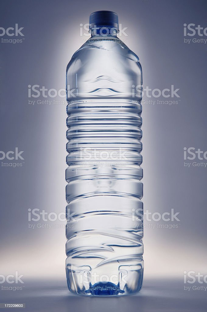 water bottle series royalty-free stock photo