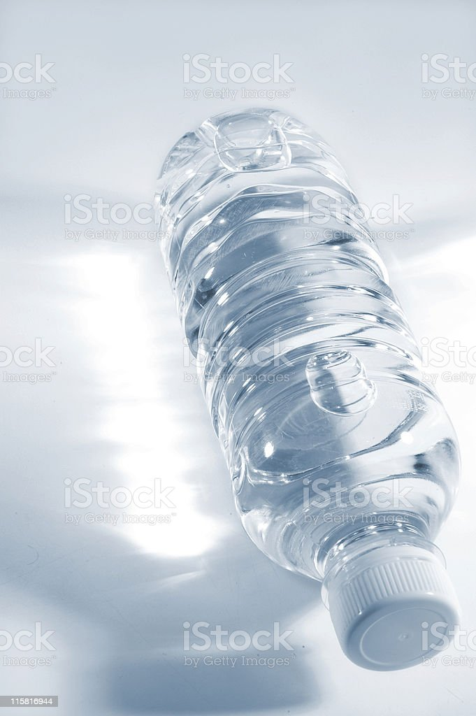 Water Bottle Two royalty-free stock photo