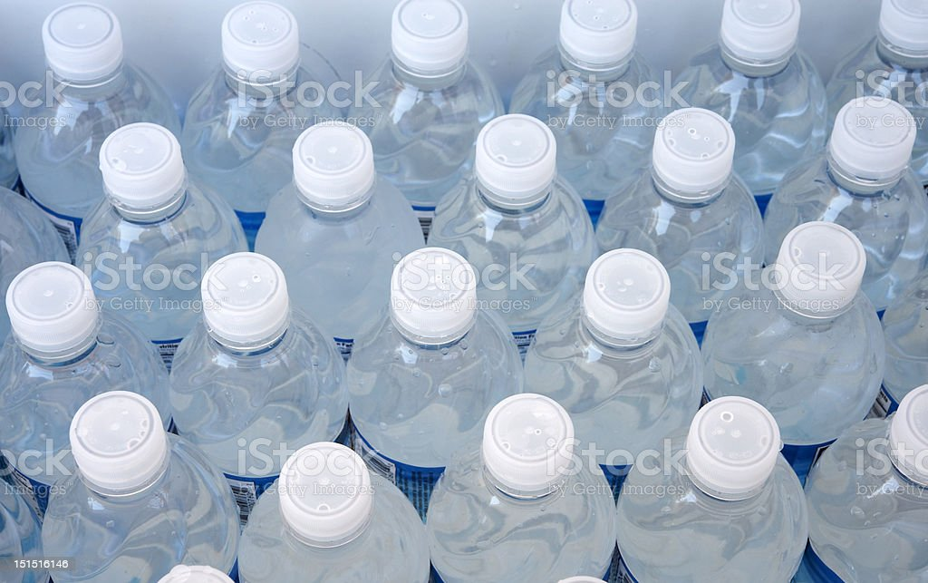 water bottles royalty-free stock photo