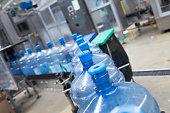 Water bottling factory interiors