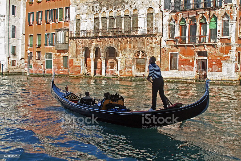 water canal stock photo