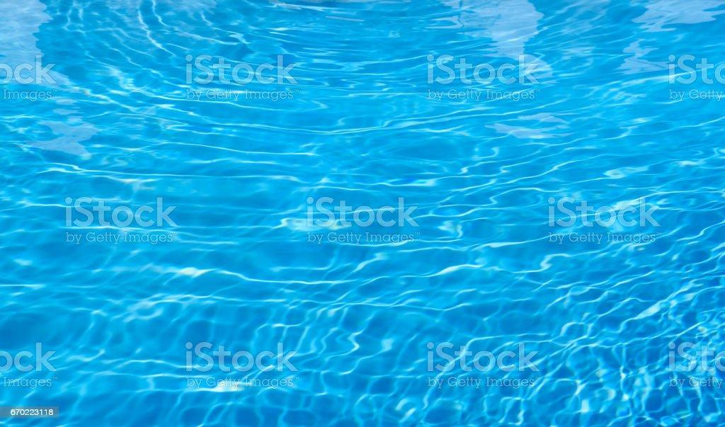 water caustics background stock photo