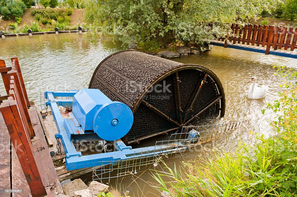 water cleaning system royalty-free stock photo