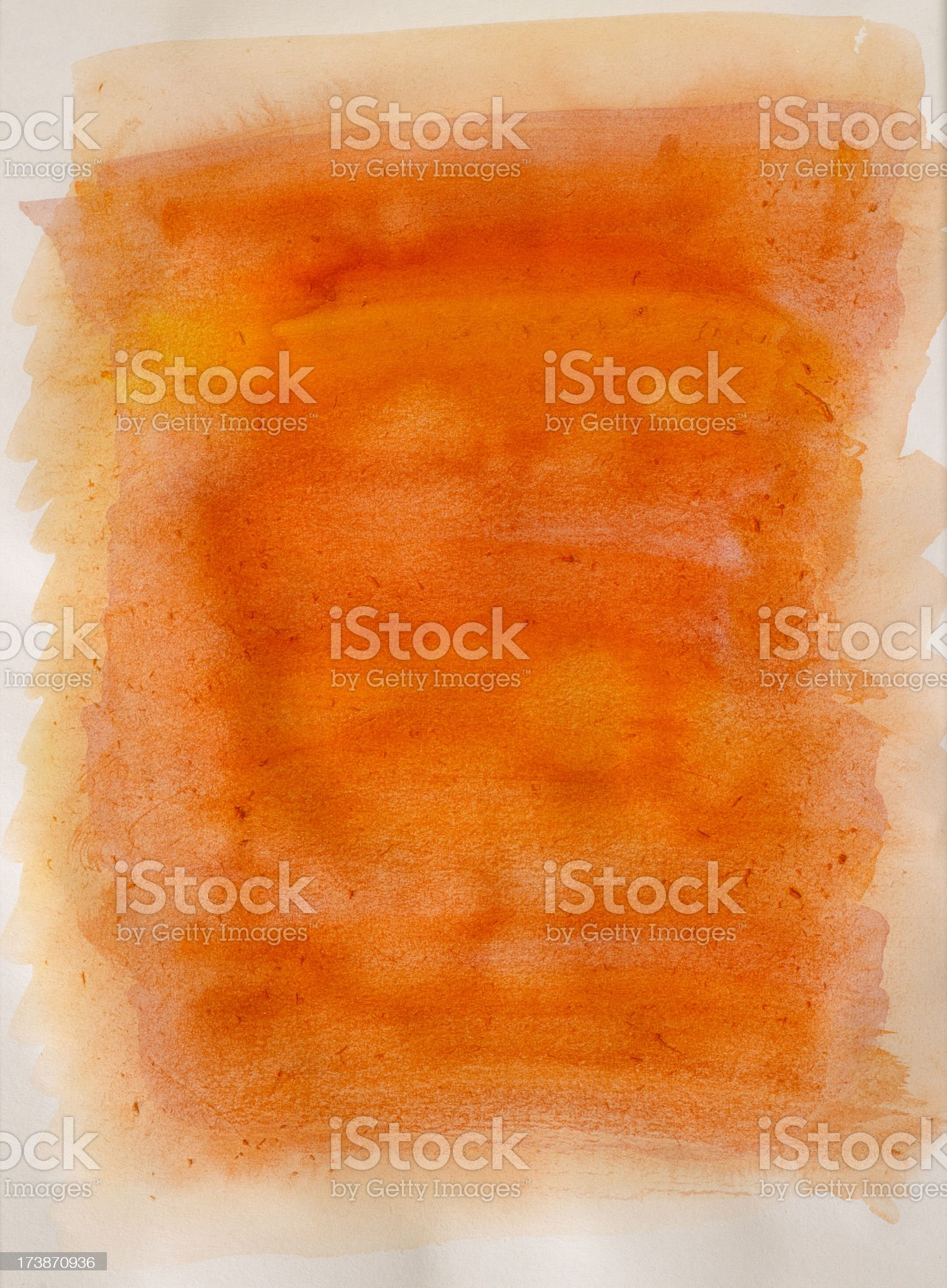 Water Color Frame royalty-free stock photo
