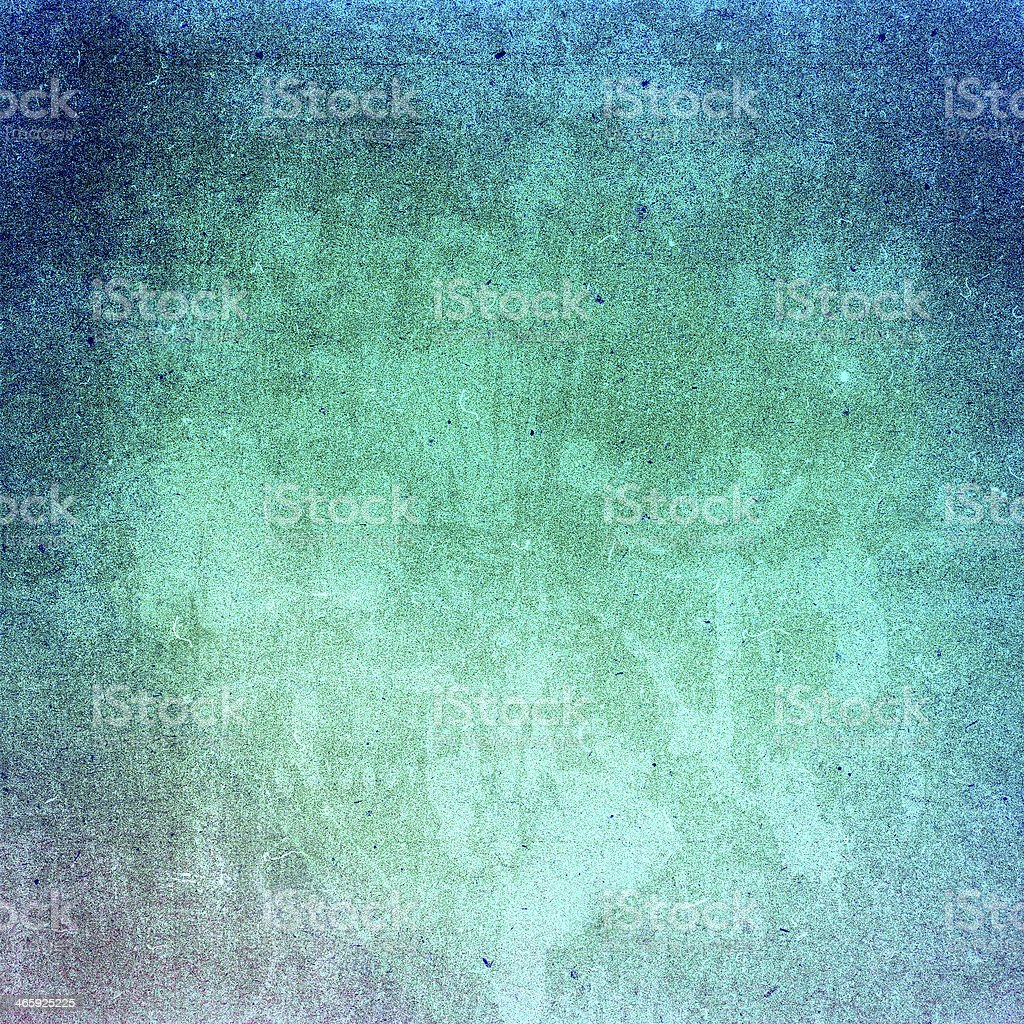 Water color on recycle green and yellow vintage paper royalty-free stock photo