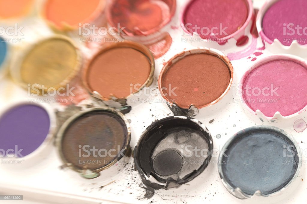 Water Color Paint (Lensbaby) royalty-free stock photo