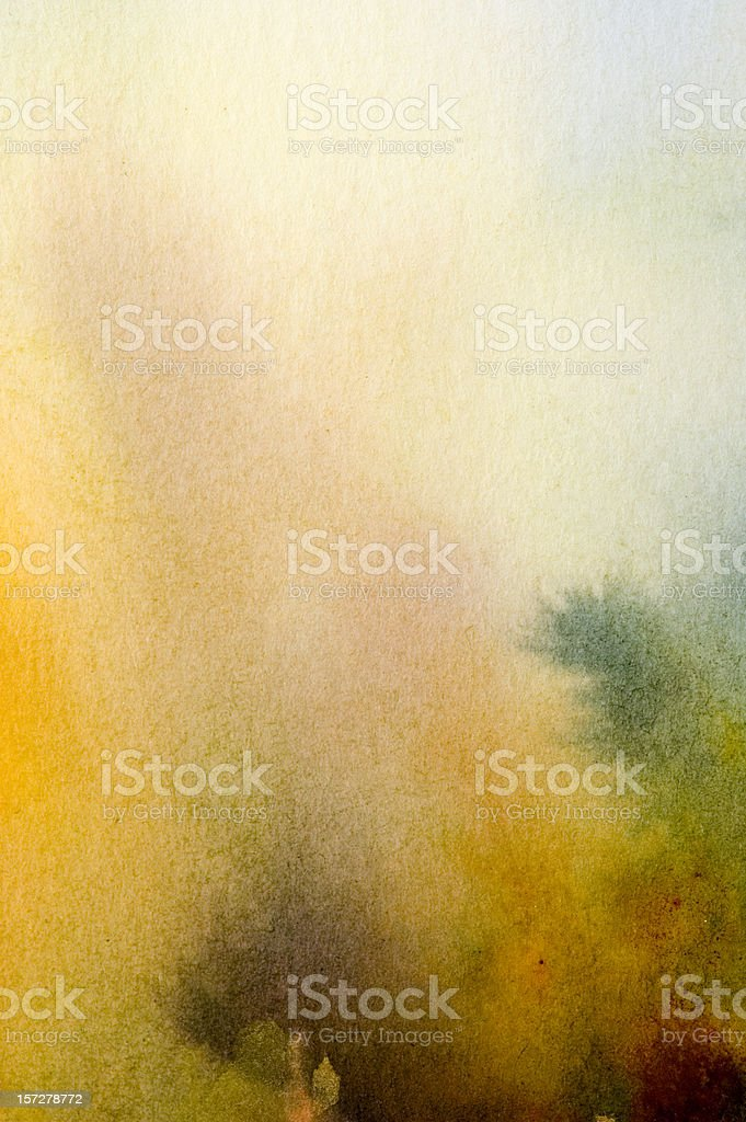 A water color pale abstract background royalty-free stock photo