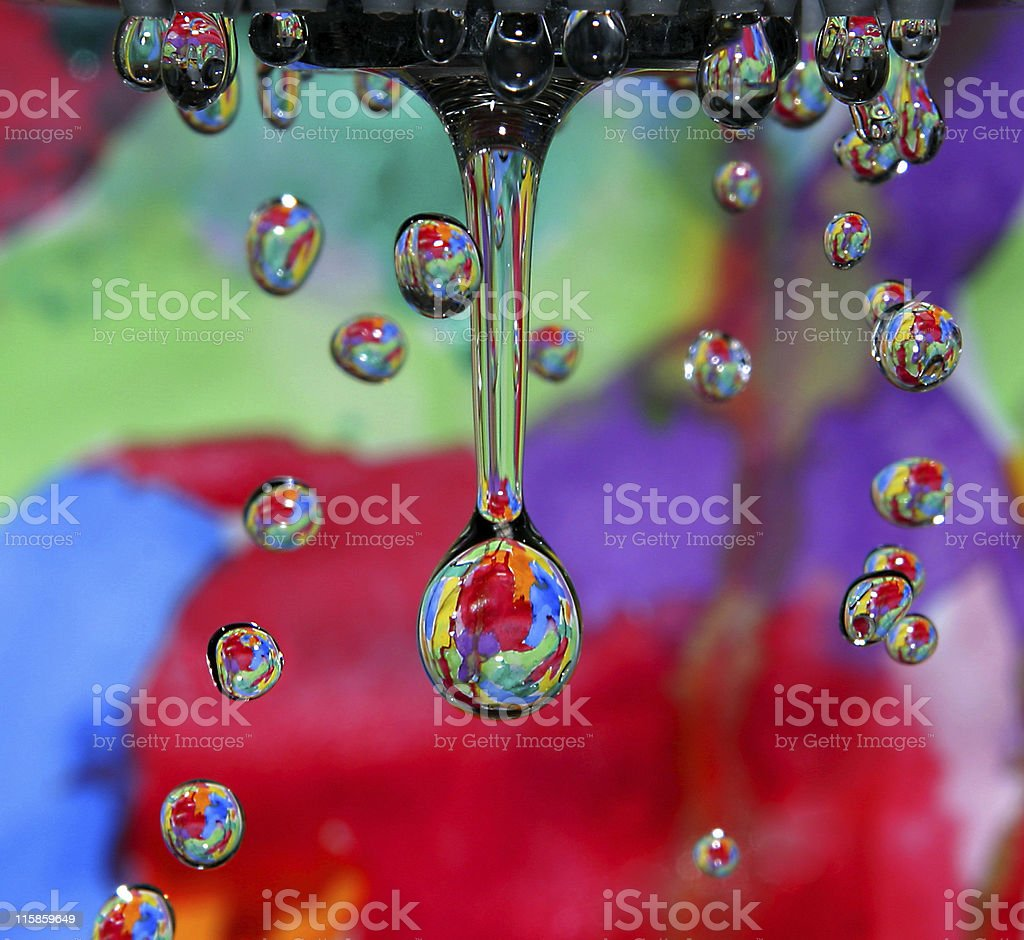 Water Colors royalty-free stock photo