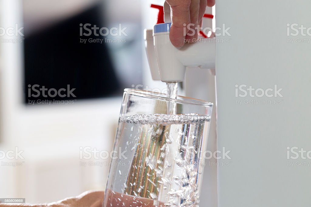 Water Cooler stock photo