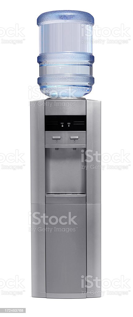 Water Cooler+Clipping Path royalty-free stock photo