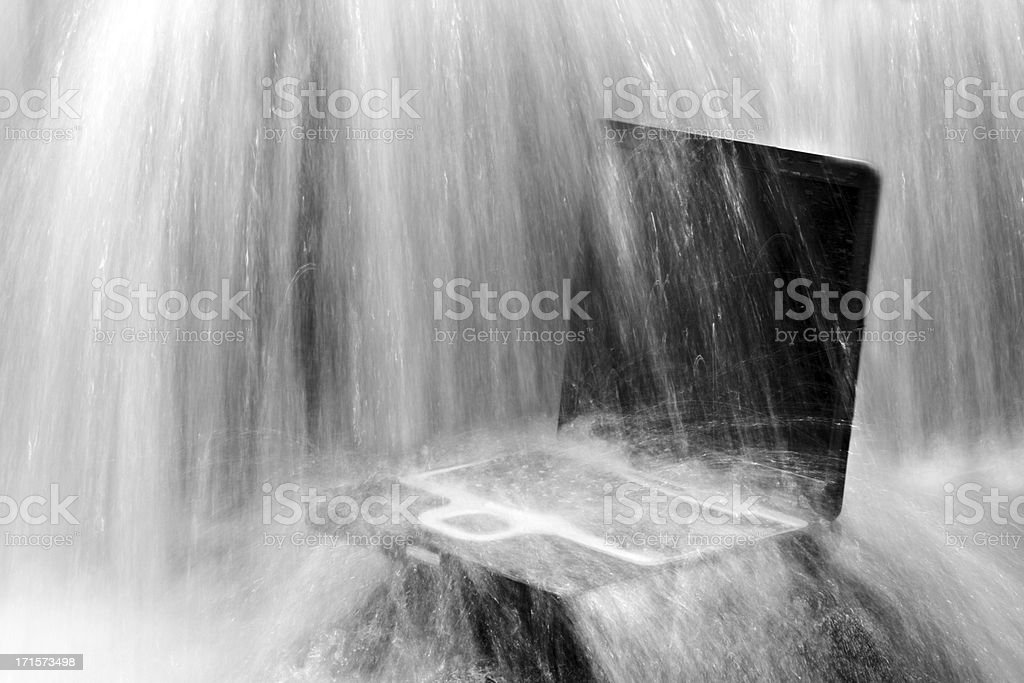 water cooling royalty-free stock photo
