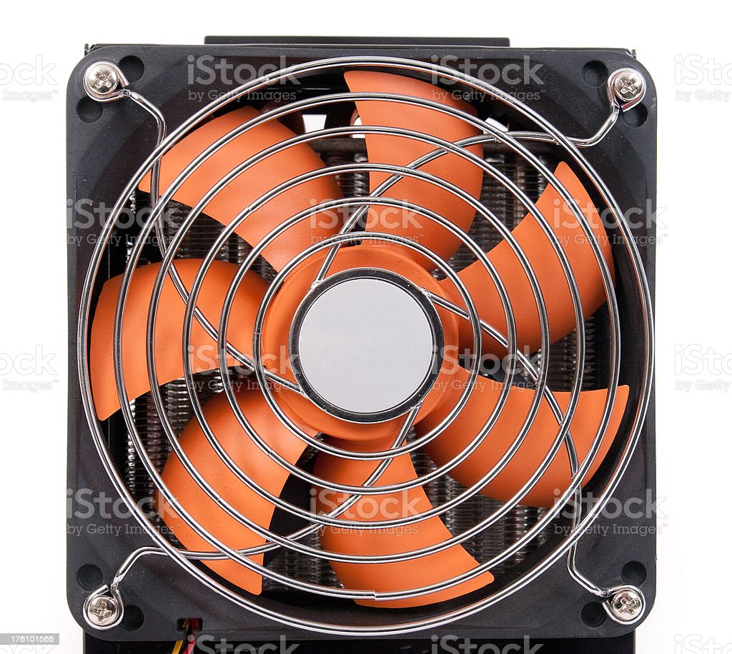 CPU Water Cooling royalty-free stock photo