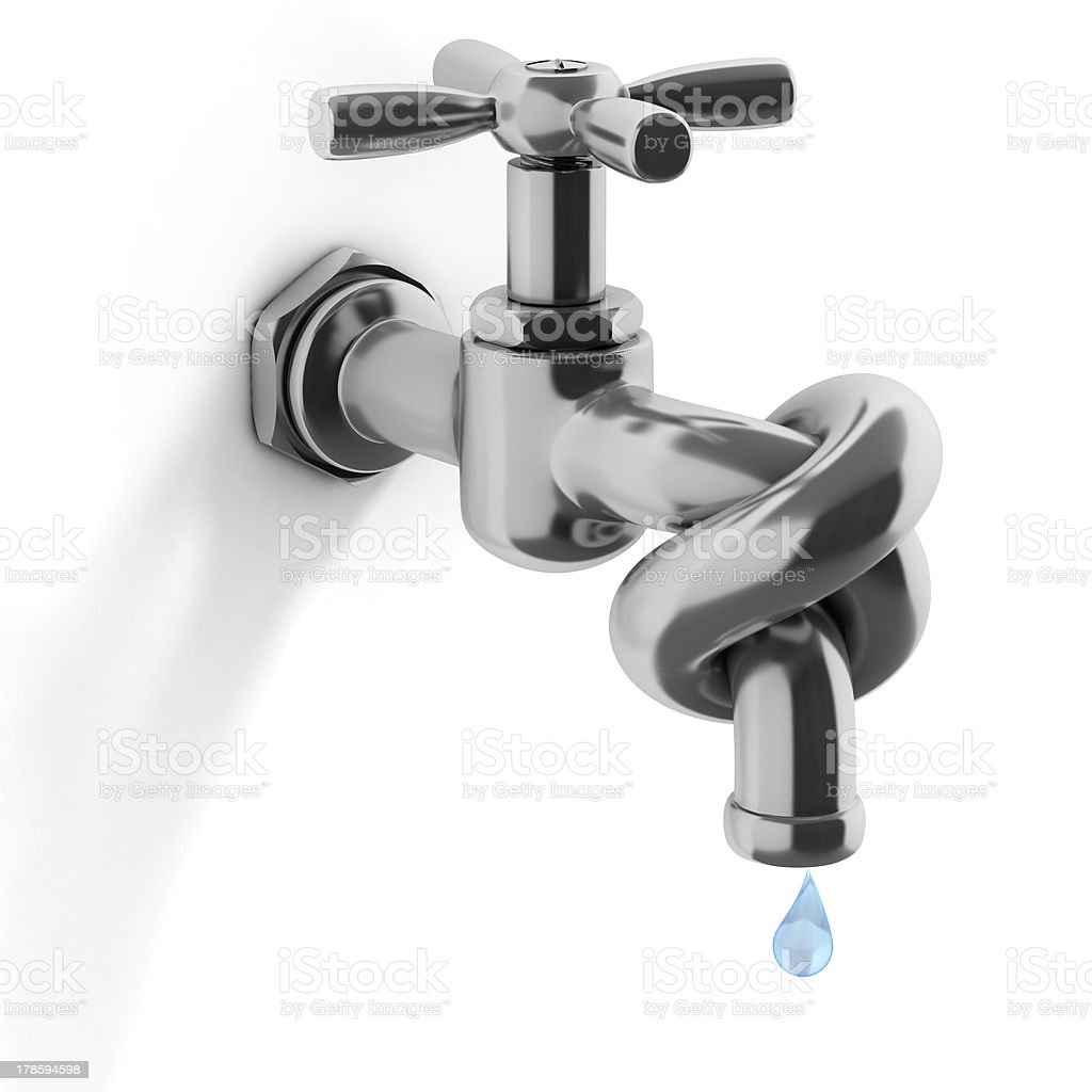 water crisis 3d concept stock photo
