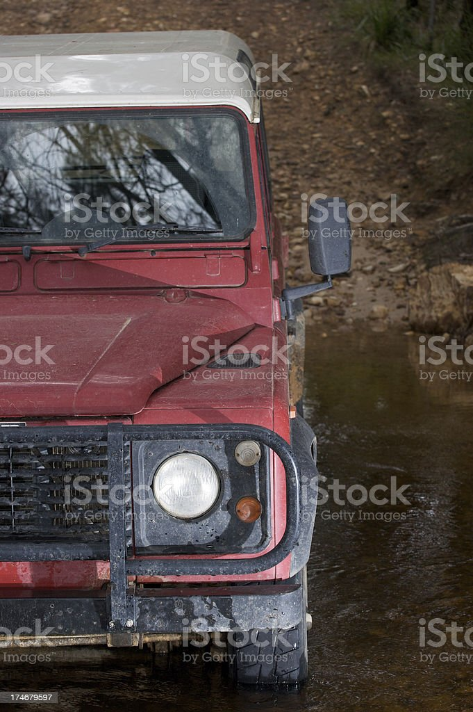 Water Crossing royalty-free stock photo