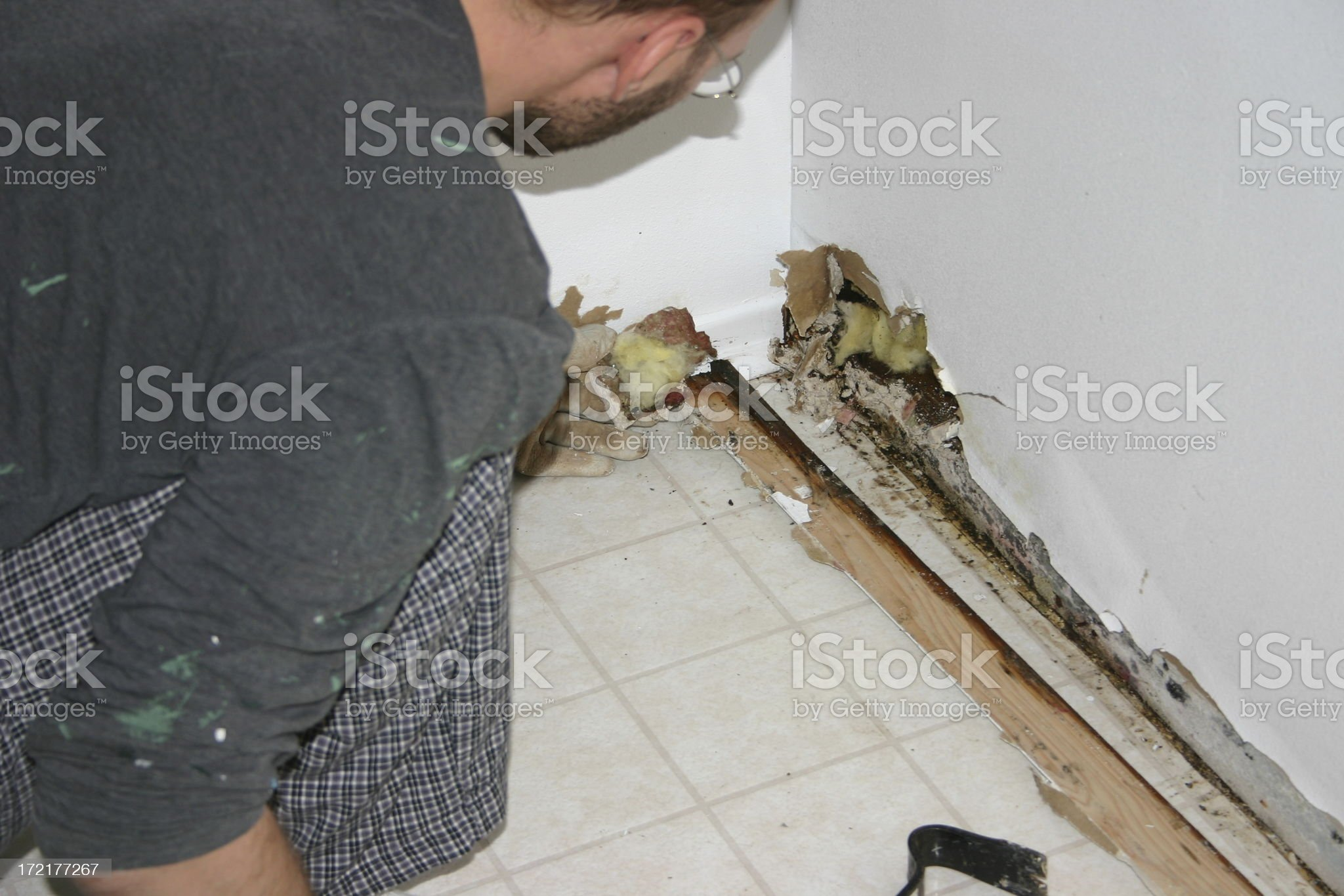 water damage #2 royalty-free stock photo