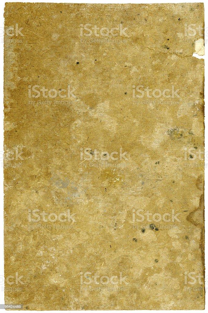 Water damaged cardboard royalty-free stock photo