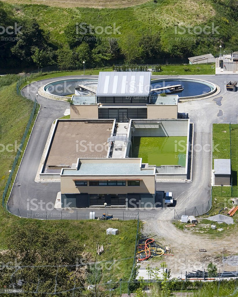 water desalination purifier industry plant royalty-free stock photo