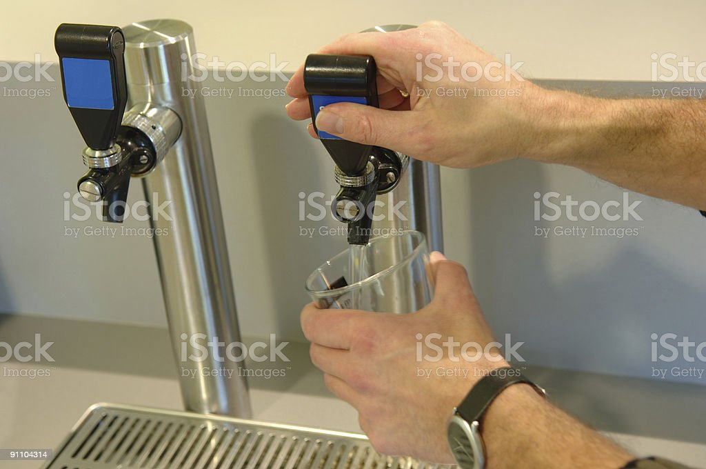Water dispenser royalty-free stock photo