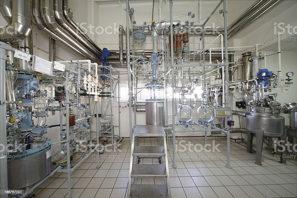 Water distiller royalty-free stock photo