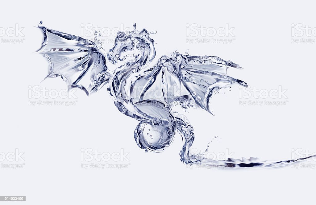 Water Dragon royalty-free stock photo