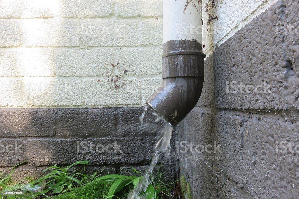 Water Drain stock photo