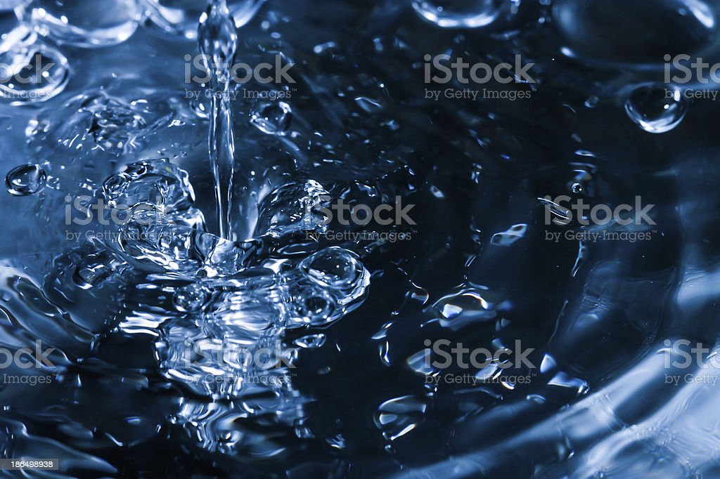 water dripping on the sink royalty-free stock photo