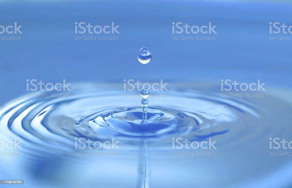 Water drop. stock photo