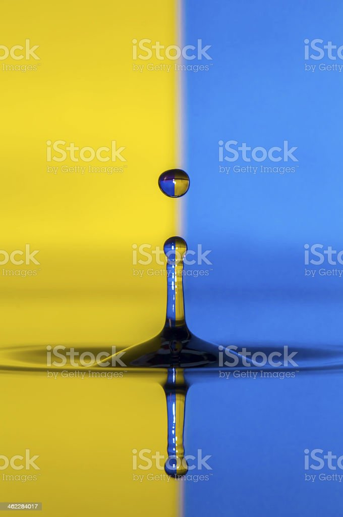 Goutte d'eau photo libre de droits