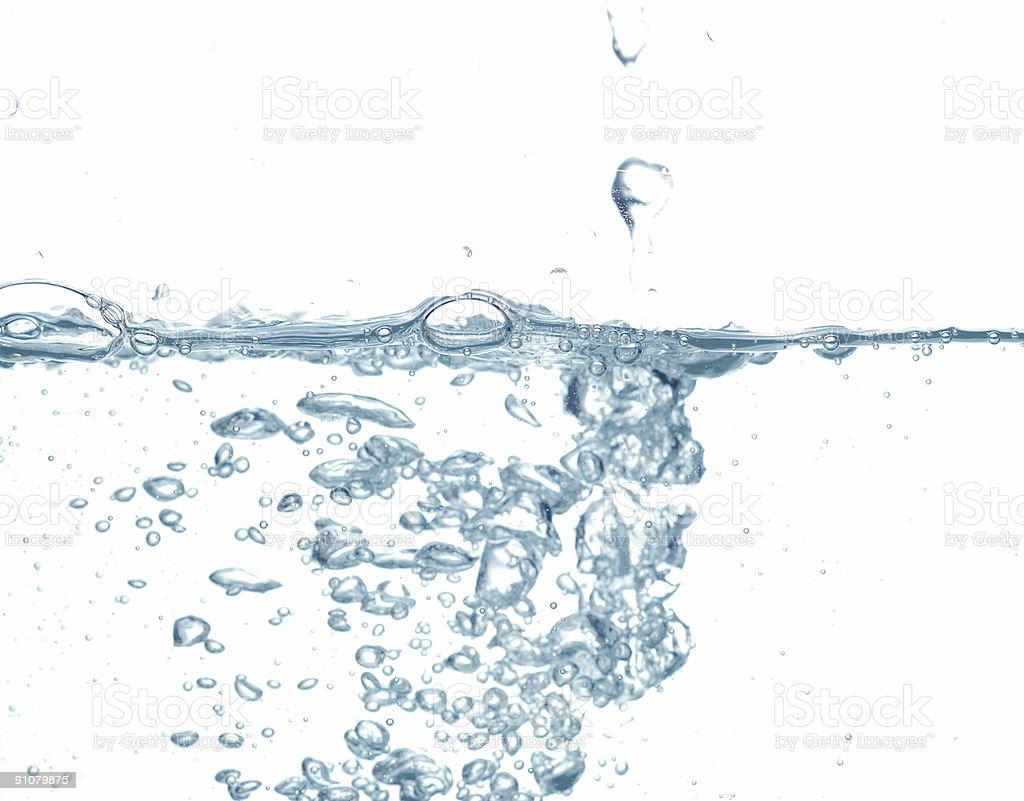 water drop #5 royalty-free stock photo