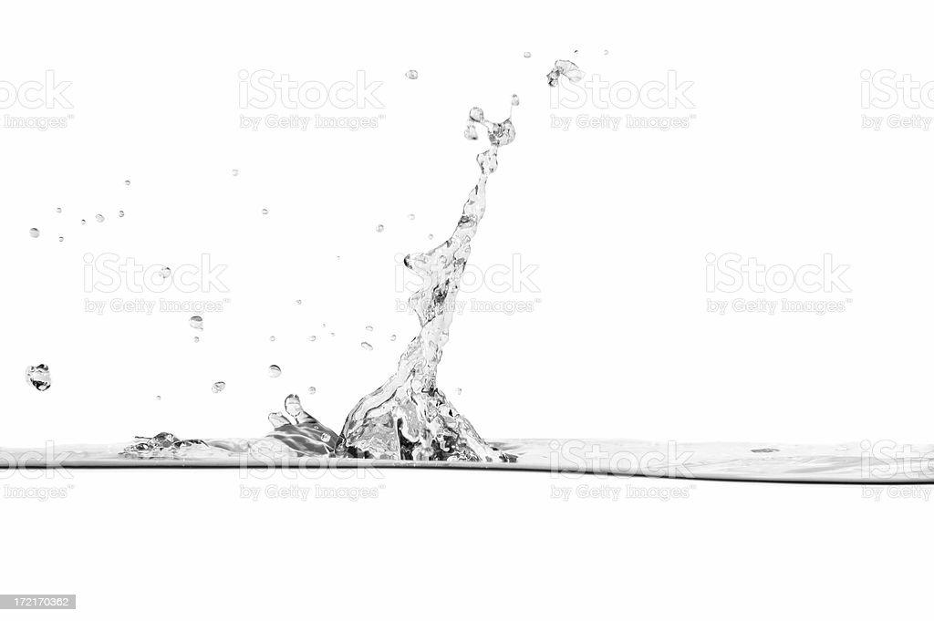 Water Drop Splash royalty-free stock photo