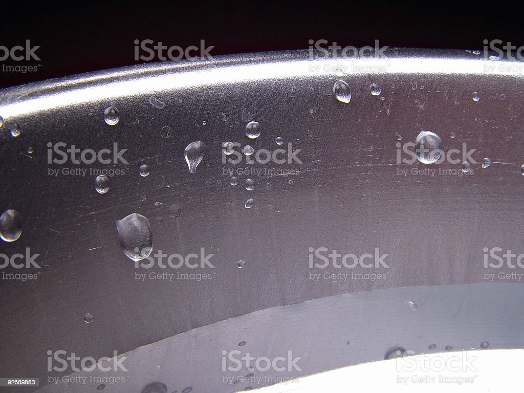 Water Drops 4 royalty-free stock photo