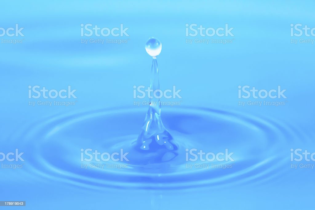 Wassertropfen 5 royalty-free stock photo