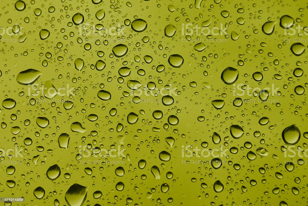 water drops design royalty-free stock photo